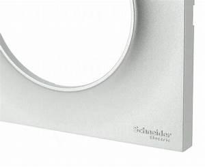 Plaque Schneider Odace : plaque schneider electric odace styl 1 poste alu 2 79 ~ Dallasstarsshop.com Idées de Décoration