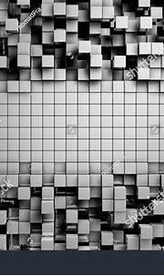 Field Gray 3d Cubes 3d Render Stock Illustration 292341587 ...