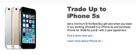 best buy iphone 5s iphone 5s 1 at best buy after trade in