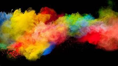 Smoke 4k Wallpapers Rainbow Pantalla Colores Humo