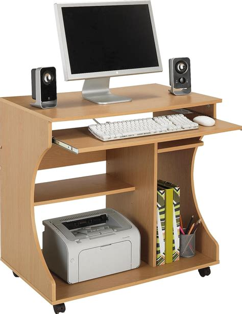 mahogany effect computer desk buy hostess trolleys kitchen trolleys at argos co uk