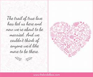 50 wedding invitation wording ideas you can totally use With wedding invitation text box