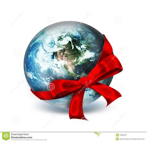 world   gift stock illustration illustration  gift