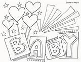 Coloring Shower Printable Congratulations Babies Printables Doodle Drawing Alley Colouring Boy Sheets Colour Cards Template Getdrawings Cartoon Newborn Boys Getcolorings sketch template