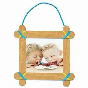 Cadre à Décorer : cadre photo enfant en b tons de bois ~ Zukunftsfamilie.com Idées de Décoration