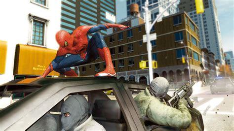 amazing spider man game   videogamesnest