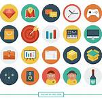 Icons Flat Icon Vector Photoshop Web Colorful