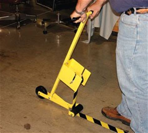 Floor Marking Applicator by Vinyl Floor Applicator Industrial Floor Warning