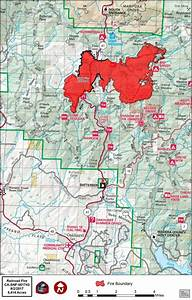 Railroad Fire Perimeter Map 9