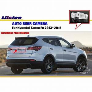 Liislee Car Rear View Camera For Hyundai Santa Fe 2013