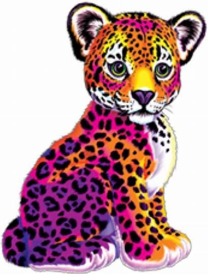 Lisa Frank Transparent Stickers Dlf Pt Jaguar