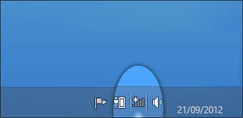 bureau windows 8 disparu comment afficher l icone wifi dans la barre des taches