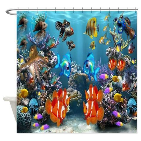 Under the Sea Shower Curtain by listing store 115168750