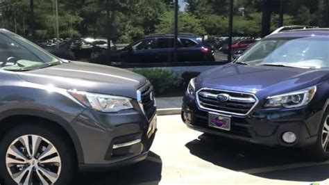 Subaru Ascent 2019 Vs 2020 by New Subaru Outback Vs Ascent 3 Row Which Is The Best Fit
