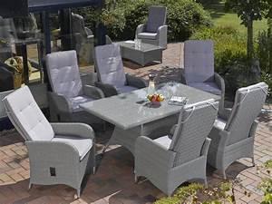 Gartenmöbel Set 8 Personen : gartenm bel set polyrattan grau ~ Michelbontemps.com Haus und Dekorationen