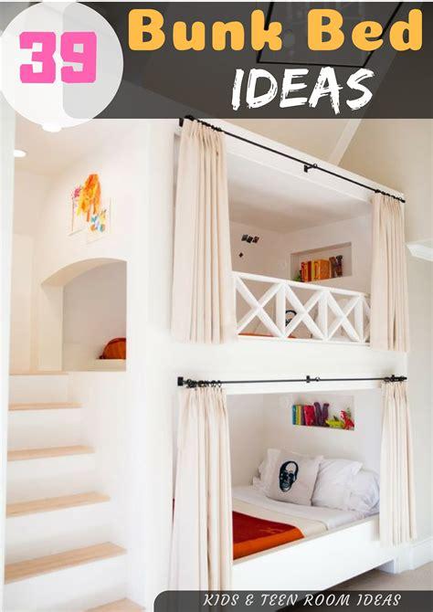cozy diy bunk beds loft bed build plans kids teen
