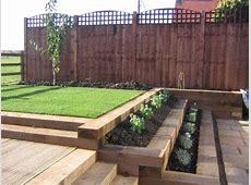 Railway Sleeper garden idea on Pinterest Railway