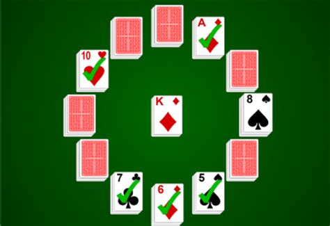 clock solitaire rikkigames clock rules