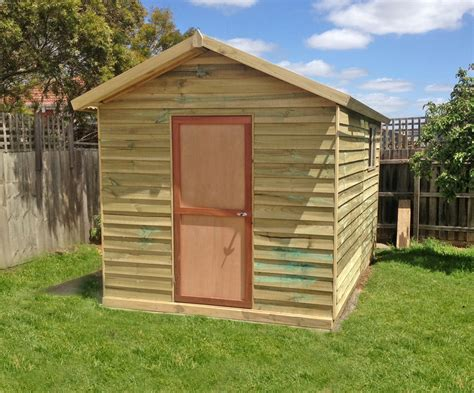 Quality Sheds  Aarons Outdoor Living
