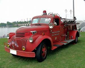 U0026quot 1942 Chevrolet Fire Engine U0026quot  By Mstinak