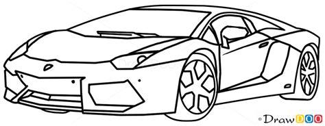 draw lamborghini aventador supercars   draw