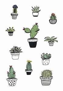 Cacti doodle - Alana Keenan   GRoW   Pinterest   Middle ...