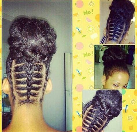 hottest cornrow braided updo hairstyles
