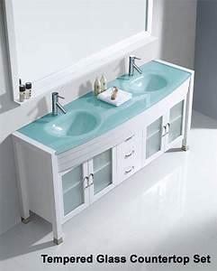 Virtu usa ava 73in double bathroom set in white vu um 3073 wh for Ava bathroom furniture