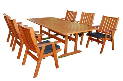 kontiki dining sets wood medium ideal for 6 seats san