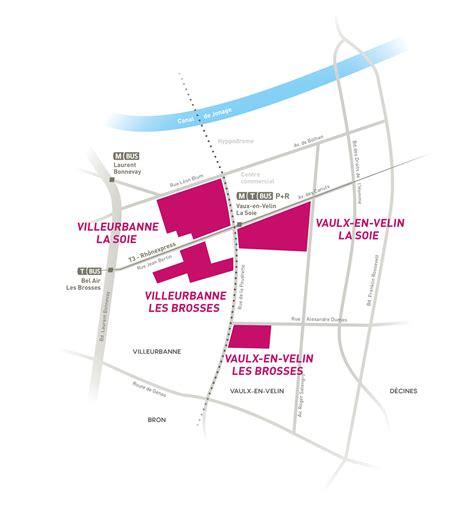 bureau carré de soie vaulx en velin villeurbanne carré de soie la métropole