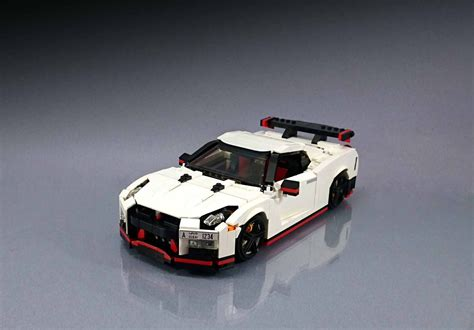 Lego Cars by Lego Fan Builds Awesome Nissan Gt R Nismo Replica
