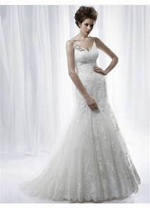 modest mermaid trumpet lace tulle bridal wedding dress With modest mermaid wedding dresses