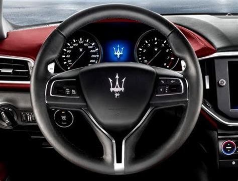 2017 maserati ghibli vs quattroporte the steering wheel of the new maserati ghibli torque news