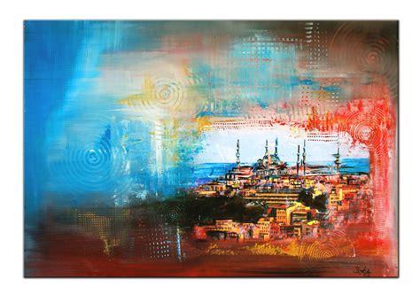 Burgstallers Moderne Kunst Malerei Acryl Bild Gemälde