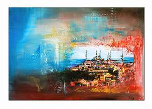 Bilder Acryl Abstrakt : burgstallers moderne kunst malerei acryl bild gem lde leinwand abstrakt istanbul ebay ~ Whattoseeinmadrid.com Haus und Dekorationen