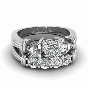 heart shaped engagement rings fascinating diamonds With wedding rings heart