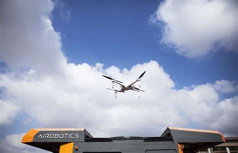 airobotics optimus drone keeping an eye on bhp s closed