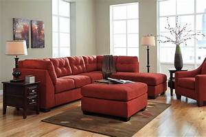 Maier sienna raf sectional from ashley 45202 17 66 for Ashley furniture sectional sofa prices