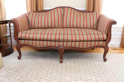 Ethan Allen Settee by Ethan Allen Evette Settee Sofa For Sale In Hopkinton Ma
