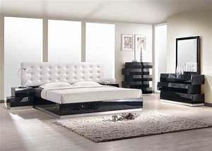 Milan modern bedroom set for Bedroom furniture modern