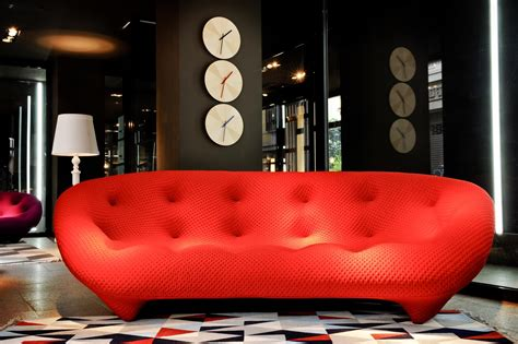 Divano Rosso Torino : The Sofas Ploum The Bouroullec Brothers Protagonists