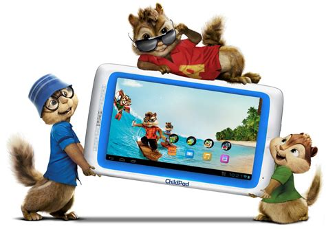 Alvin And The Chipmunks Themed Archos Child Pad Available