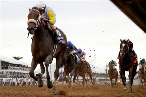 breeders cup race horse longines unbridled velazquez forever john learned lessons gregory distaff calif aboard wins bull nov mar friday