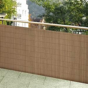 gardol comfort sichtschutz kastanienbraun 300 x 90 cm With französischer balkon mit leuchtkugeln garten bauhaus