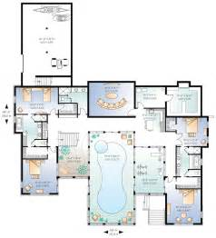 home plans with indoor pool beautiful home plans with pool 6 house plans with indoor
