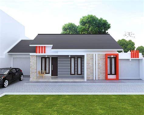 Renovasi Tampak Depan Rumah Minimalis  desain depan rumah minimalis type 21 jual bata ekspos