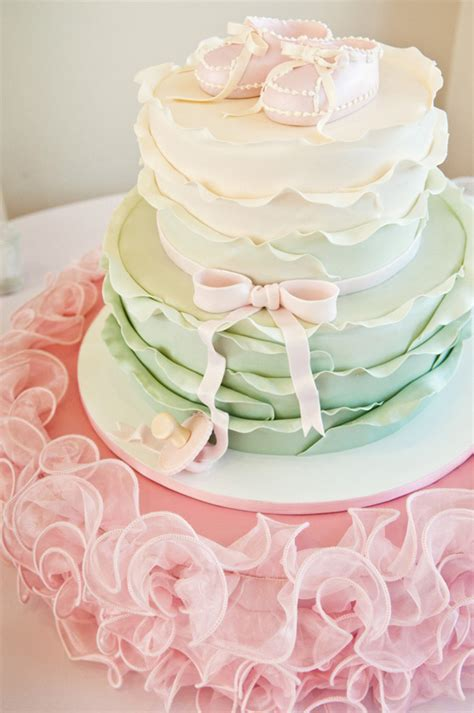 Pink And Mint Green Baby Shower by Pretty Baby Shower In Pink Mint Green And Gold The