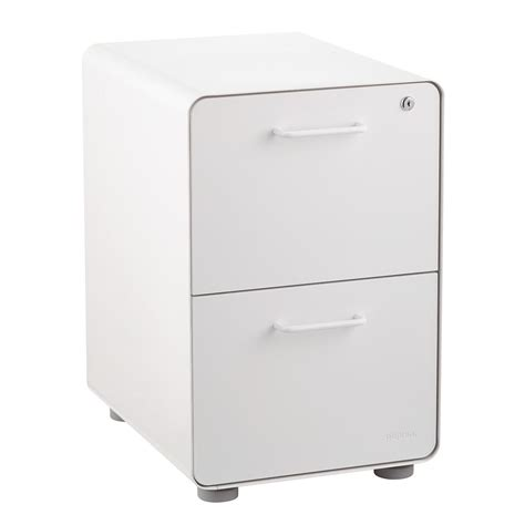 poppin white file cabinet poppin white 2 drawer locking stow filing cabinet the