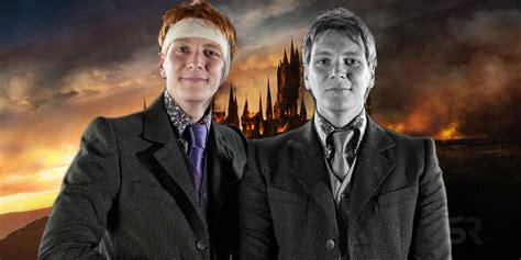 Harry Potter Movies Ruined Fred Weasleys Death Screen Rant