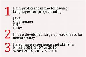 Skill Ideas For Resume How To Write A Summary Of Your Computer Proficiency 8 Steps